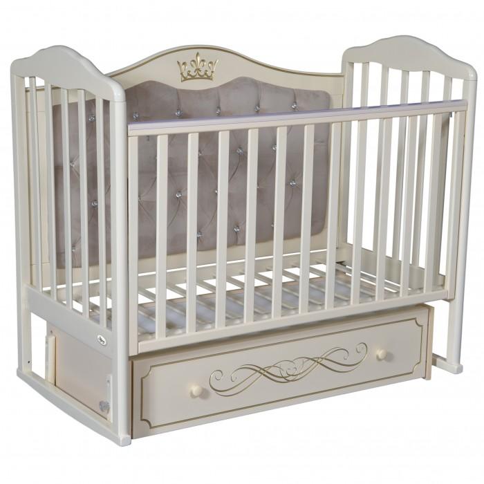 детские кроватки oliver francesca elegance premium универсальный маятник Детские кроватки Oliver Francesca Elegance Premium (универсальный маятник)