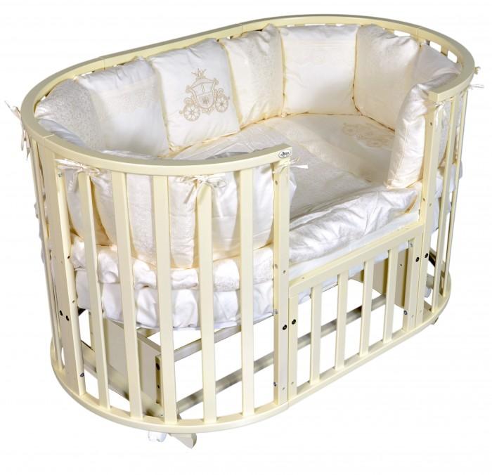 Купить Детские кроватки, Детская кроватка Oliver Gabriella 6 в 1 универсальный маятник