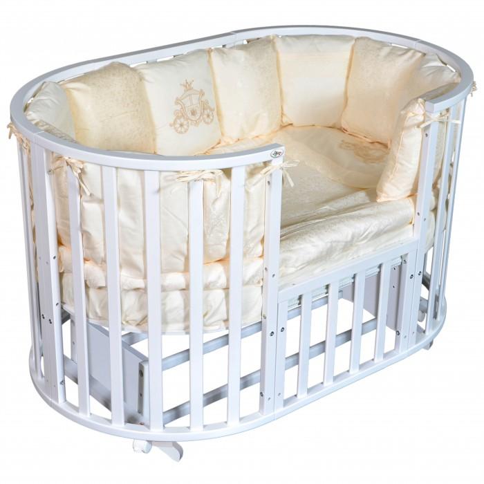 Кроватки-трансформеры Oliver Gabriella 6 в 1 универсальный маятник аксессуары для мебели malika маятник поперечный для кроватки mio 6 в 1