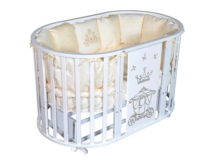 Детская кроватка Oliver Gabriella Royal 6 в 1 универсальный маятник