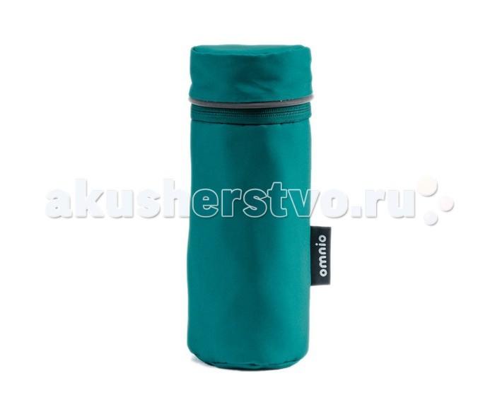 Omnio Термо-чехол для бутылочки Insulated Bottle BagТермо-чехол для бутылочки Insulated Bottle BagOmnio Термо-чехол для бутылочки Insulated Bottle Bag крепится с любой боковой стороны коляски.  Особенности: В комплекте съемный плечевой ремень для переноски Утепленная прокладка с кулиской Водоотталкивающий материал. Застежка-молния Светоотражающие вставки.  Размер (диам. х высота) - 10 х 25,5 см<br>