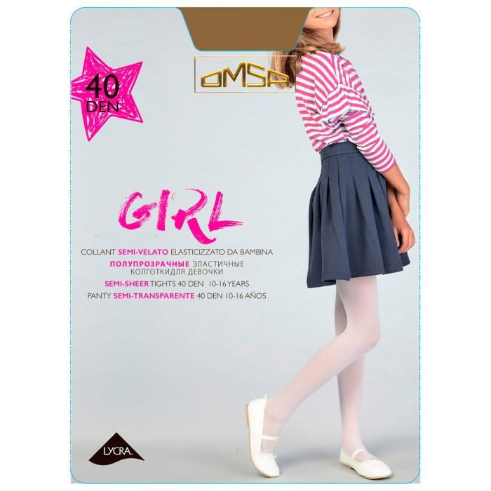 Белье и колготки Omsa kids Колготки для девочки Girl 40