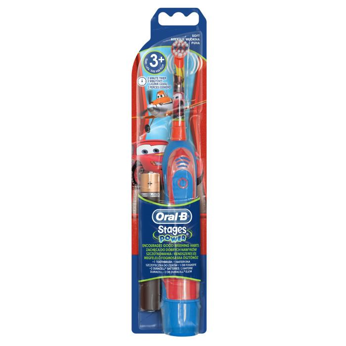 Купить Гигиена полости рта, Oral-B Детская электрическая зубная щетка Stages Power на батарейках 3+