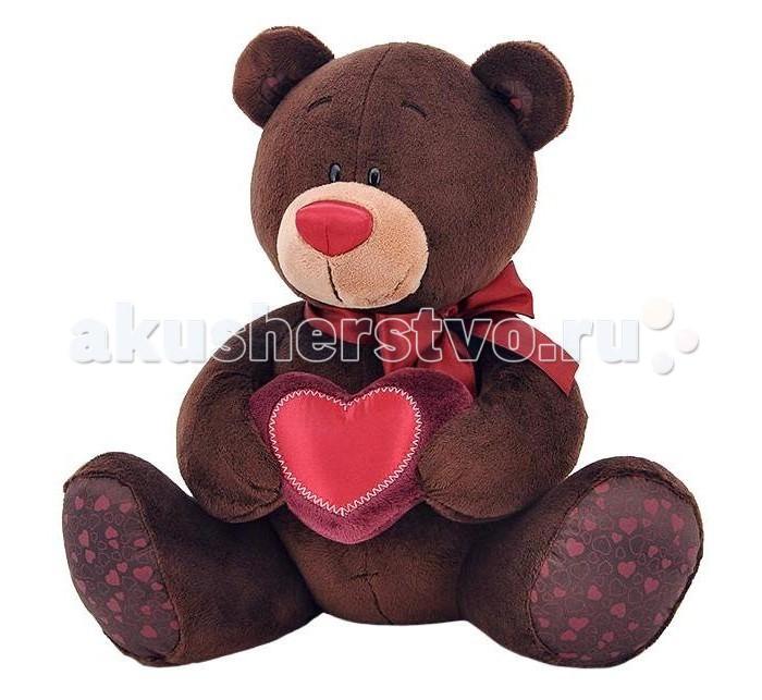 Мягкие игрушки Orange Choco Медвежонок-мальчик с сердцем orange milk медвежонок девочка с сердцем