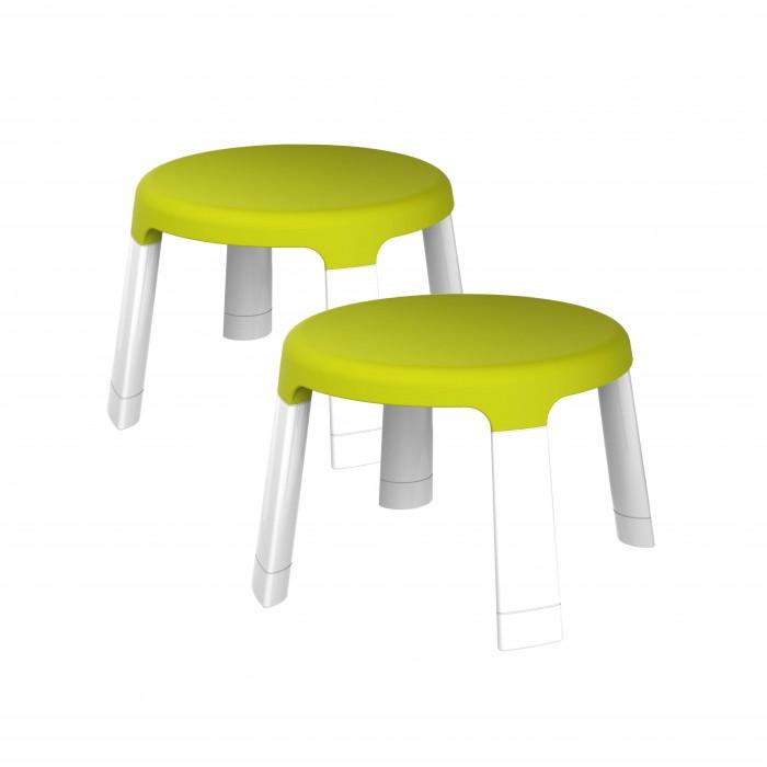 Пластиковая мебель Oribel Табуреты для детей Страна чудес 2 шт. табуреты из дуба