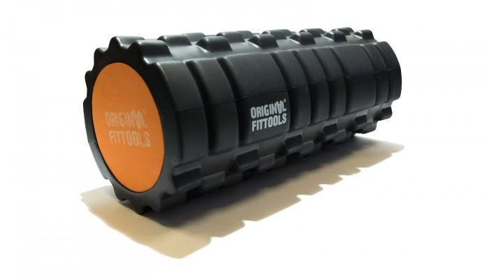 Товары для йоги Original FitTools Цилиндр массажный двойной 33x14 см