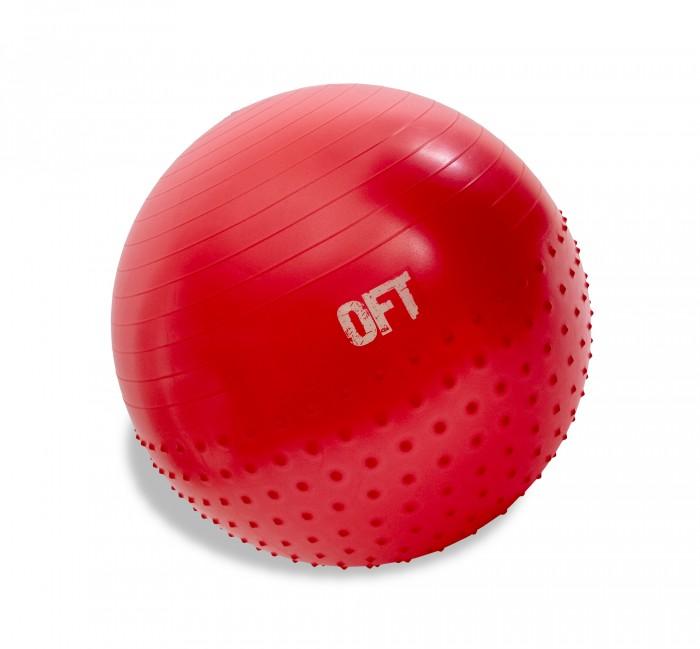 Картинка для Original FitTools Гимнастический мяч 65 см с массажным эффектом