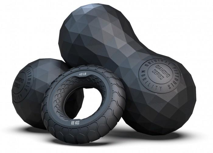 Мячи Original FitTools Кистевой эспандер и массажные мячи 2 шт. эспандеры original fittools эспандер восьмерка сильное сопротивление 9 кг