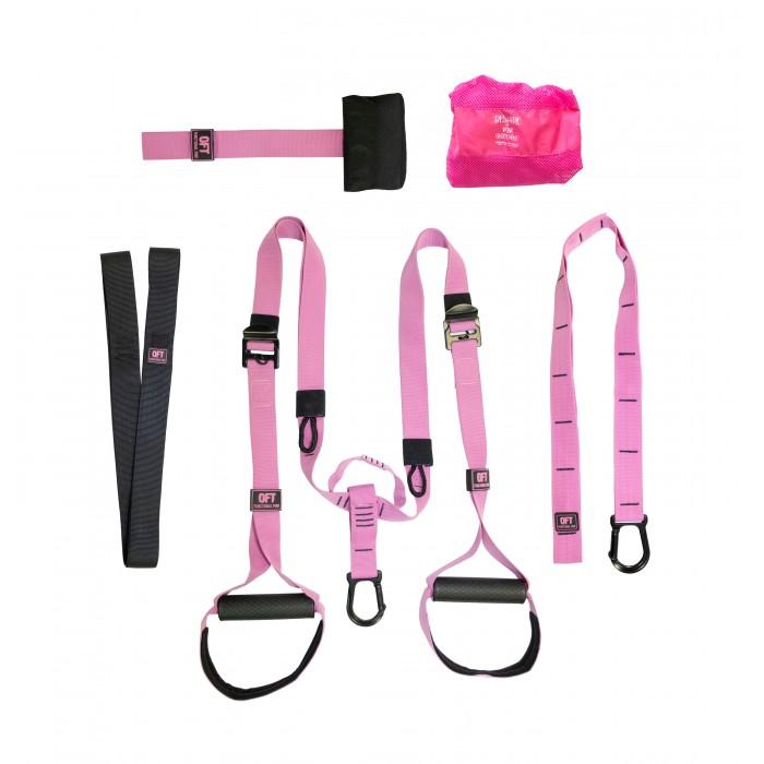 Купить Эспандеры, Original FitTools Набор петель для функционального тренинга профессиональный Pink Unicorn