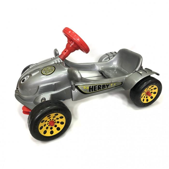 Orion Toys Машина педальная с музыкальным рулем Herby