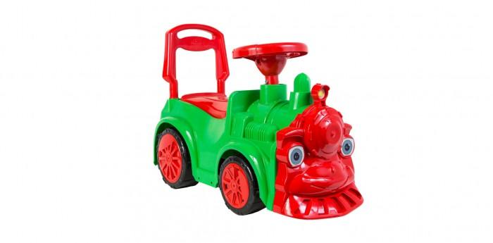Каталки Orion Toys Паровозик каталка толокар orion toys мотоцикл 2 х колесный 501 зеленый