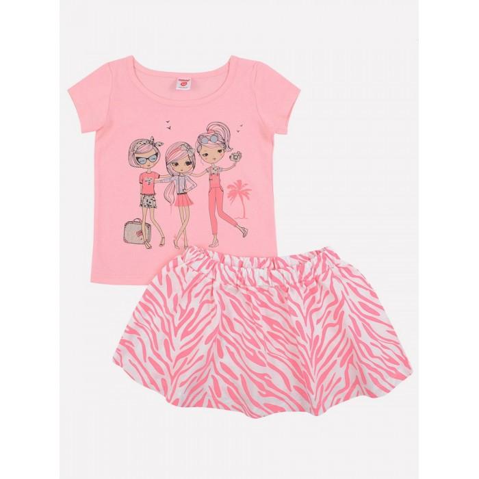Купить Юбки, Ортор Комплект для девочки (футболка, юбка) К 2591