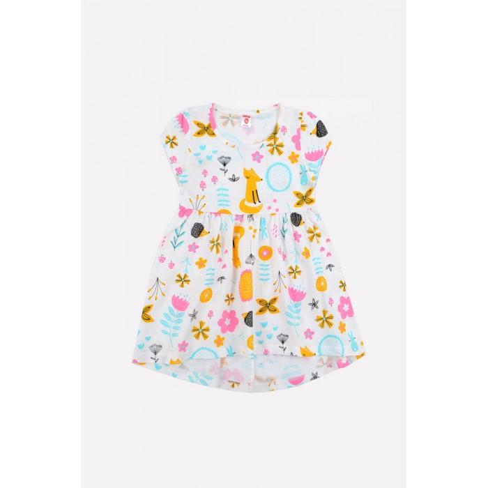 Платья и сарафаны Ортор Платье для девочки Летний лес платье miss istanbul платья и сарафаны мини короткие