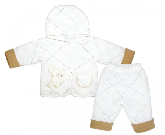 Комплекты детской одежды Осьминожка Комплект на синтепоне Зайка-сладкоежка 531-40В