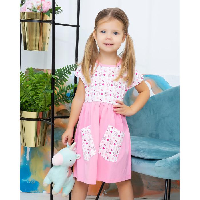 Купить Платья и сарафаны, Осьминожка Платье для девочки Этно-кошки 123-152-26