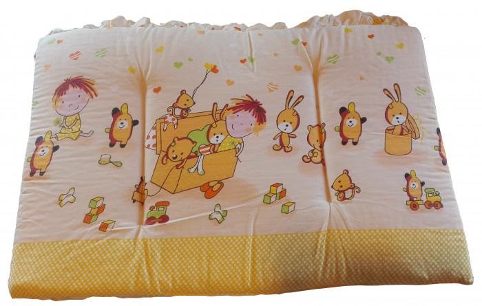 Бортики в кроватку Осьминожка высокий