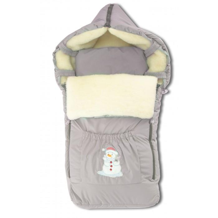 Зимний конверт Осьминожка К102К102Конверт зимний меховой для прогулки.   Конверт для деток на прогулку в зимний период. Имеет две боковые молнии для удобства расположения малыша.   Снабжен специальной подушечкой для удобства малышу.   Защитит вашего малыша в зимний период от холода.   Отличного подойдет для Вашего малыша как для использования в коляске, так и в дальнейшем.  Состав: Верх: ткань плащевая с пропитской (100% п/э), подклад: мех на трикотажной основе (70% шерсть, 30% п/э), наполнитель: холофайбер (100% п/э).  Уход: ручная стирка 30 градусов.  Внимание! Вышивка на кармане может меняться в зависимости от поставки!<br>