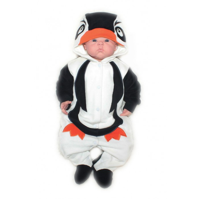 Осьминожка Комбинезон Пингвин В мире животных