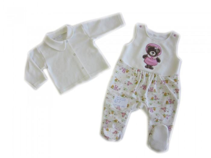 Комплекты детской одежды Осьминожка Комплект: кофта и полукомбинезон Дружба кофта с вышивкой blugirl кофта с вышивкой