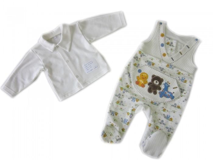 Комплекты детской одежды Осьминожка Комплект: кофточка и полукомбинезон Дружба цена 2017
