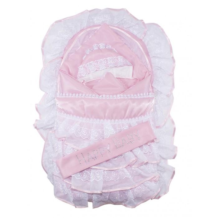 Комплект на выписку Осьминожка К115 (6 предметов)К115 (6 предметов)Осьминожка Комплект на выписку К115 (6 предметов)  Комплект для новорожденных. Может использоваться для выписки. В комплект входит: конверт, одеяло, утепленный чепчик и набор трикотажа: распашонка, ползунки чепчик. Дополнительно в комплект входит поясок со стразами.   Состав: верх атлас-сатин (100%п/э), подклад бязь (100% хлопок), трикотажный комплект кулир (100% хлопок).<br>