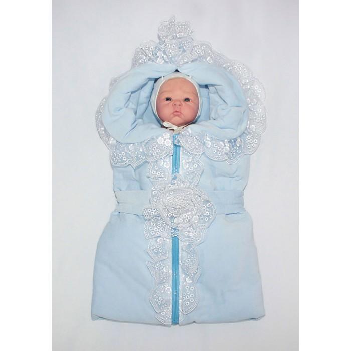 Осьминожка Конверт-одеяло размер К129Конверт-одеяло размер К129Осьминожка Конверт-одеяло размер К129 отлично подойдет как для выписки из родильного дома, так и для повседневных прогулок.  Состав верха: велюр 80% хлопок, 20% п/э, отделка кружево Состав подклада: кулир 100% хлопок.<br>