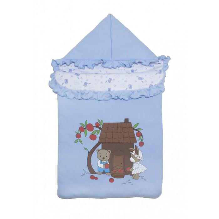 Конверты на выписку Осьминожка Конверт с капюшоном на молнии Яблочный садик осьминожка конверт на запах мишка happy к205