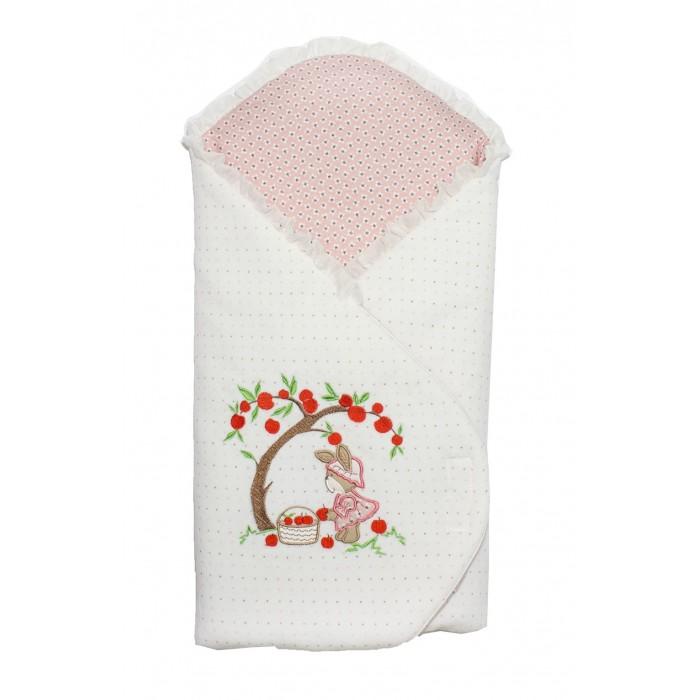 Осьминожка Одеяло-конверт с жесткой спинкой и шапочка Яблочный садикОдеяло-конверт с жесткой спинкой и шапочка Яблочный садикОсьминожка Одеяло-конверт с жесткой спинкой и шапочка Яблочный садик. Велюровый конверт с вышивкой.   Идеальный размер для новорожденых детей. В комплекте шапочка и бант. Внутри специальный кармашек для теплого матрасика.  Состав: верх велюр (80%х/б, 20% п/э), подклад интерлок (100% хлопок), наполнитель холкон (100% п\э).<br>