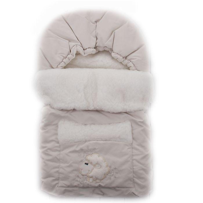 Осьминожка Зимний конверт Овечка с карманом