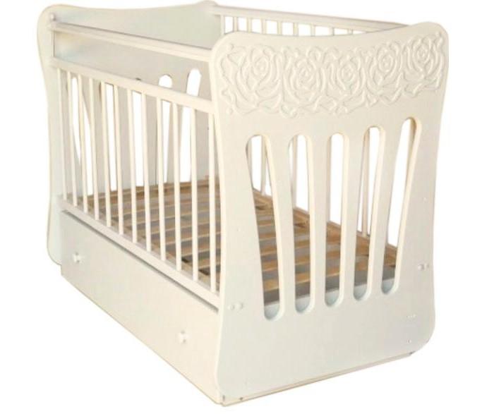 Детская кроватка Островок уюта Розали маятник поперечный