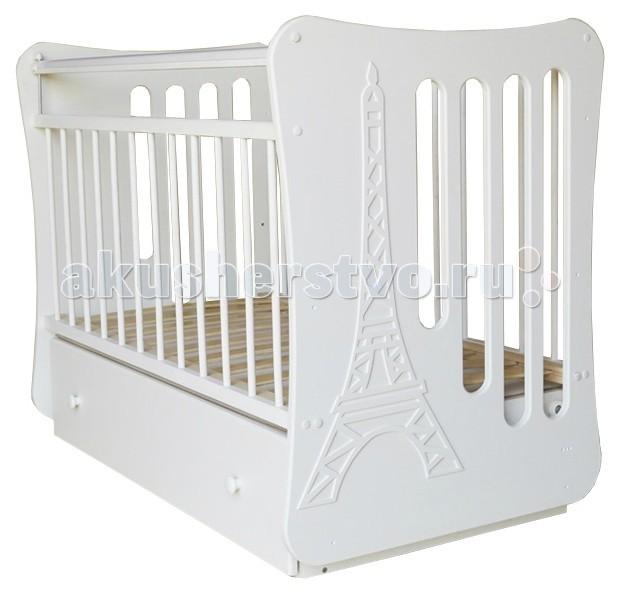 Детская кроватка Островок уюта Вояж маятник поперечный