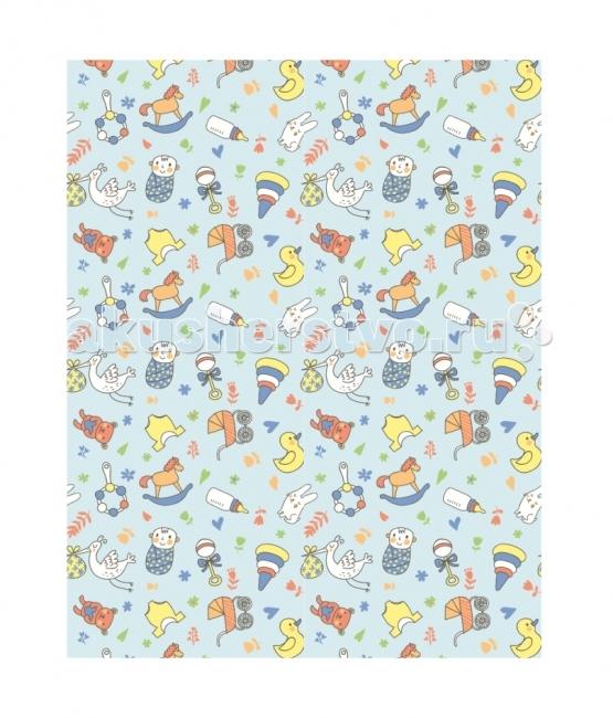 Постельные принадлежности , Одеяла Baby Nice (ОТК) байковое Малыш 100х118 см арт: 44522 -  Одеяла