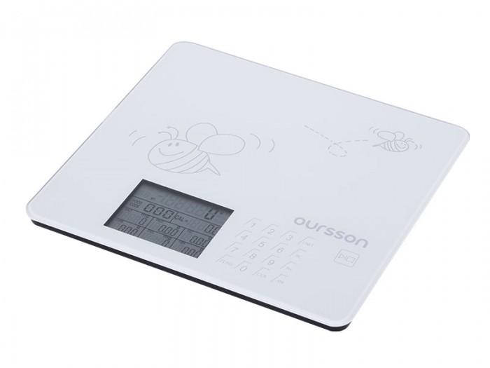 Кухонные весы Oursson Кухонные весы KS0502GD весы кухонные optiss белые
