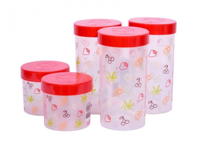 Купить Контейнеры для еды, Oursson Набор eмкостей для жидких и сыпучих продуктов 5 шт. JA55171