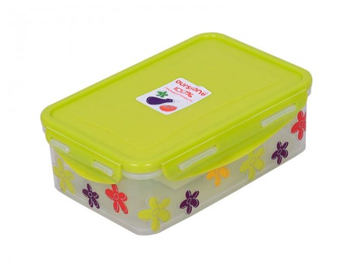 Фото - Контейнеры для еды Oursson Пластиковый контейнер 1.1 л CP1103-2S oursson контейнер cp1103s cp1103 1s оранжевый прозрачный