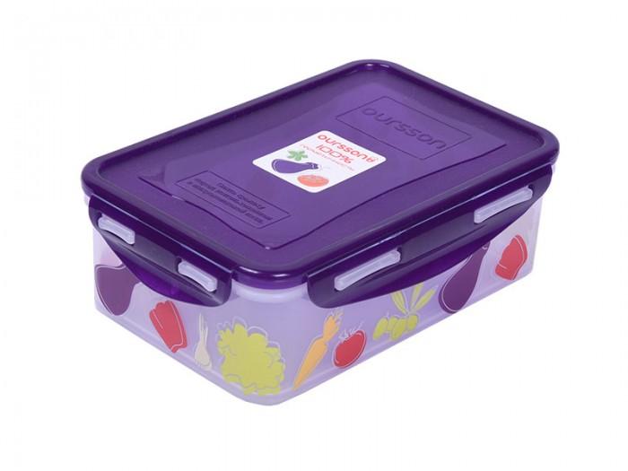 Фото - Контейнеры для еды Oursson Пластиковый контейнер 1.1 л CP1103-4S oursson контейнер cp1103s cp1103 1s оранжевый прозрачный