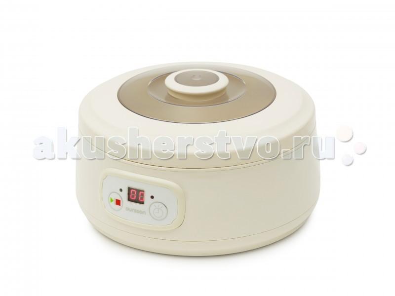 Oursson  Йогуртница-ферментатор FE1502DЙогуртница-ферментатор FE1502DЙогуртница FE1502D с пятью уникальными керамическими баночками объемом по 200 мл. для приготовления настоящего, домашнего, живого йогурта подарит радость вам и вашей семье!   Благодаря высокопрочной керамике, которая хорошо распределяет и сохраняет, как тепло, так и холод, а также крышечкам с силиконовым уплотнительным кольцом, которые плотно закрывают баночки, йогуртница идеально подходит для приготовления и хранения полезного кисломолочного продукта. Кроме того, стоит отметить наличие в приборе индикации времени приготовления на дисплее, таймер обратного отсчета и звуковой сигнал по окончании приготовления.   Управление  - Электронное Таймер приготовления  - до 24 ч. Объём ёмкостей для приготовления  - 5 х 200 мл./1 л. Материал емкостей  - Керамика Количество режимов  - 1 Ферментация   Дисплей   Индикация времени приготовления   Индикация режима работы   Звуковой сигнал окончания работы   Защита от перегрева   Материал корпуса  - Пластик Размер 28х28х15.5 см  Бренд Oursson – специалист по кулинарным инновациям. Задача - сделать питание современных семей вкусным, полезным и с минимальными временными затратами. Большое внимание уделяется контролю за использованием в продукции исключительно качественных и экологичных материалов и технологий, сохраняющих здоровье потребителей и окружающую среду.<br>