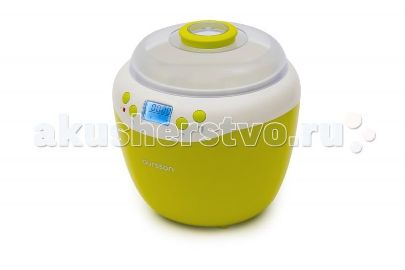 Oursson  Йогуртница-ферментатор FE2103DЙогуртница-ферментатор FE2103DБлагодар йогуртнице FE2103D, главным преимуществом которой влетс больша красива керамическа емкость объемом 2 литра с плотно закрыващейс крышкой, вы сможете приготовить полезный натуральный йогурт, дрожжевое тесто, а также различные напитки, основанные на незавершённом спиртовом брожении.   Высокопрочна керамика, котора хорошо распределет и сохранет, как тепло, так и холод, идеально подходит дл приготовлени и хранени кисломолочных продуктов. Кроме того, стоит отметить наличие в приборе индикации времени приготовлени на дисплее, таймер обратного отсчета и звуковой сигнал по окончании приготовлени.   Таймер приготовлени  - до 48 ч. Объём ёмкостей дл приготовлени  - 2 л Материал емкостей  - Керамика Количество режимов  - 2 Ферментаци   Дисплей   Индикаци времени приготовлени   Индикаци режима работы   Звуковой сигнал окончани работы   Защита от перегрева    Бренд Oursson – специалист по кулинарным инновацим. Задача - сделать питание современных семей вкусным, полезным и с минимальными временными затратами. Большое внимание уделетс контрол за использованием в продукции исклчительно качественных и кологичных материалов и технологий, сохранщих здоровье потребителей и окружащу среду.<br>