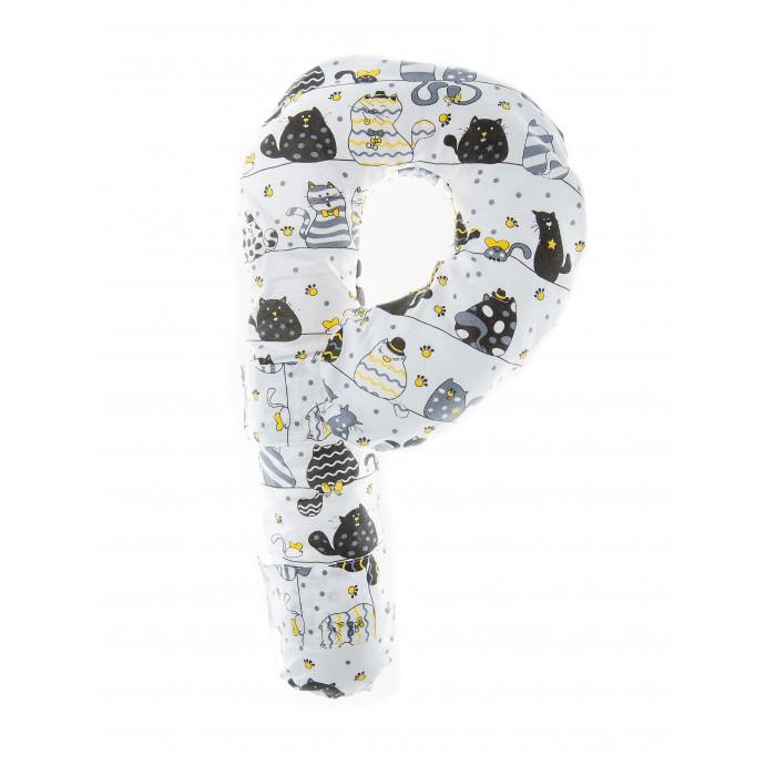 Аксессуары для автокресел, Owl&EarlyBird Детская подушка для путешествий Карамелька Коты  - купить со скидкой