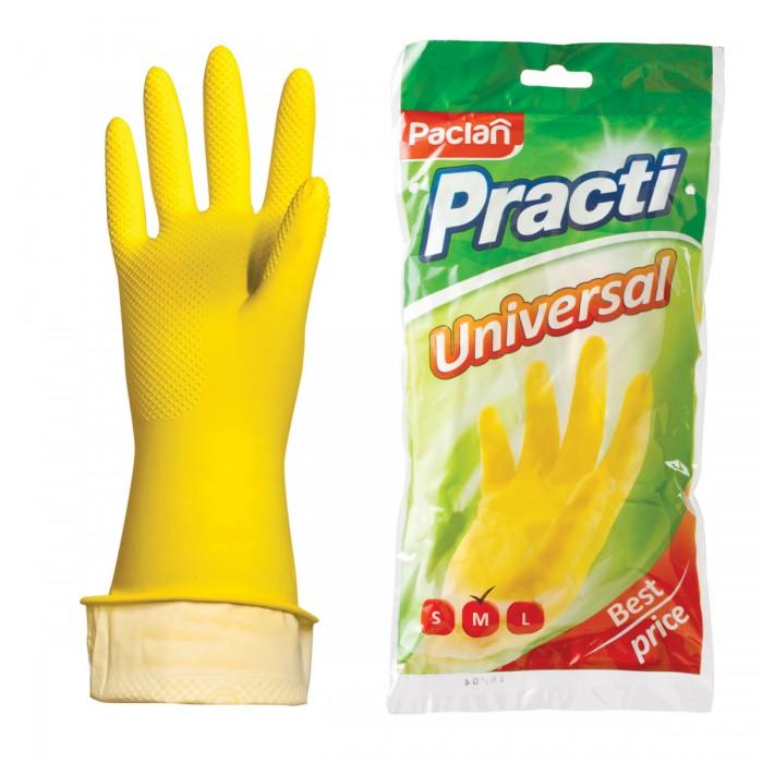 Хозяйственные товары Paclan Перчатки хозяйственные латексные Practi Universal
