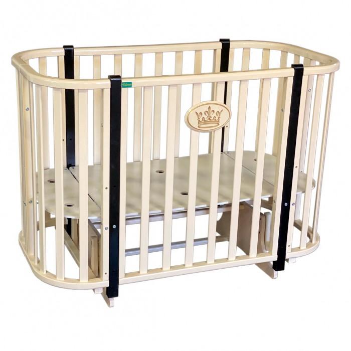 Купить Кроватки-трансформеры, Кроватка-трансформер Palermo Harmony 2 (поперечный маятник)
