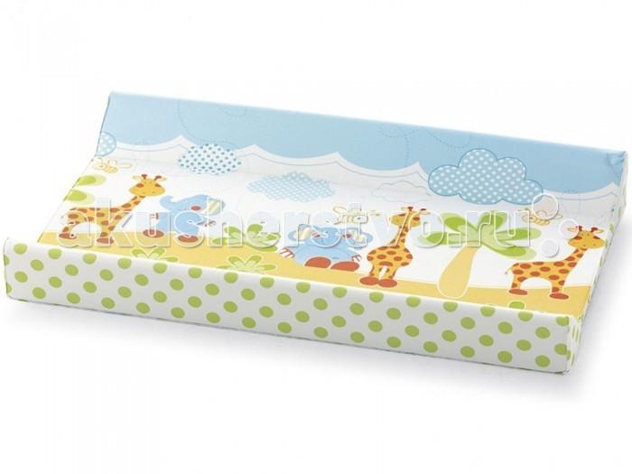 Pali Накладка для пеленания 2 борта 80х50Накладка для пеленания 2 борта 80х50Pali Накладка для пеленания 2 борта 80х50  Особенности: удобный пеленальный матрасик;  2 бортика для безопасности пеленания;  внешнее покрытие клеёнчатое;  наполнитель – полиуретан;  возможно двустороннее использование;  одна сторона мягкая, вторая жёсткая;  нетоксичные материалы, безопасные для ребёнка;  соответствует всем гигиеническим и санитарным показателям;  легко моется.  Размеры: 50x80 см<br>