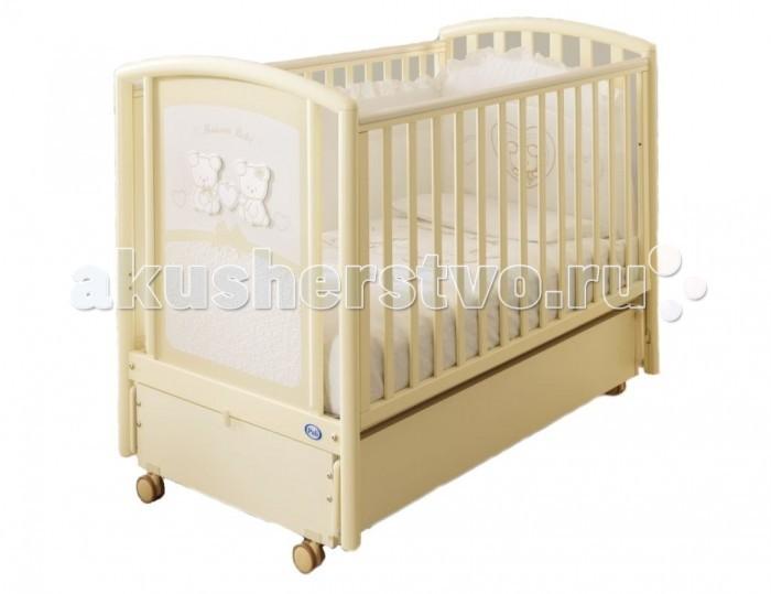 Детская кроватка Pali Elena (продольный маятник)