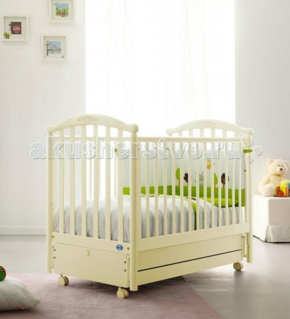 Детская кроватка Pali Giulia продольный маятник
