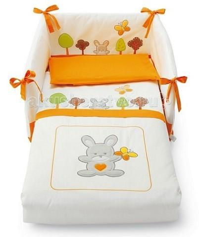 Комплект в кроватку Pali Smart Bosco (3 предмета)Smart Bosco (3 предмета)Комплектация набора белья Pali Smart Bosco: - одеяло-покрывало с синтепоновым наполнением - борт - наволочка  Особенности: - качественный синтепоновый наполнитель - изготовлен из 100%-ого хлопка - интересный яркий узор - отличается высоким качеством пошива - наволочка: 59 х 38 см - одеяло-покрывало: 125 х 87 см<br>
