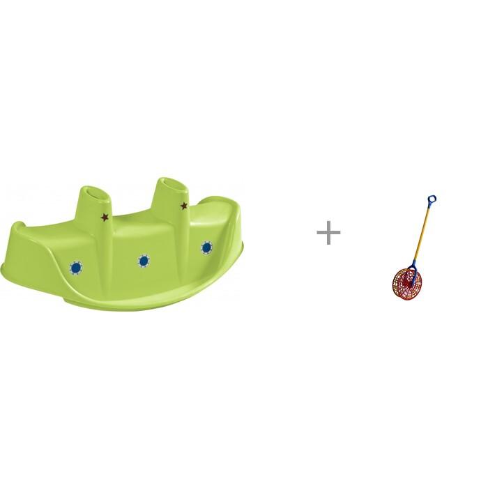 Картинка для Качалка Palplay (Marian Plast) Пароход и каталка-игрушка Спектр Погремушка №2