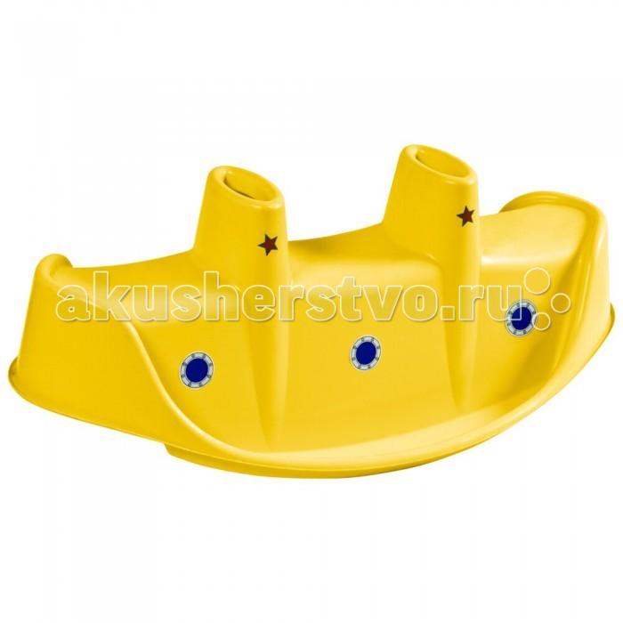 Качалки-игрушки Palplay (Marian Plast) для троих Пароход palplay marian plast песочница бассейн собачка тент