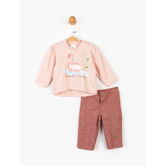 Panolino Комплект для девочки (кофта и брюки) PN14902