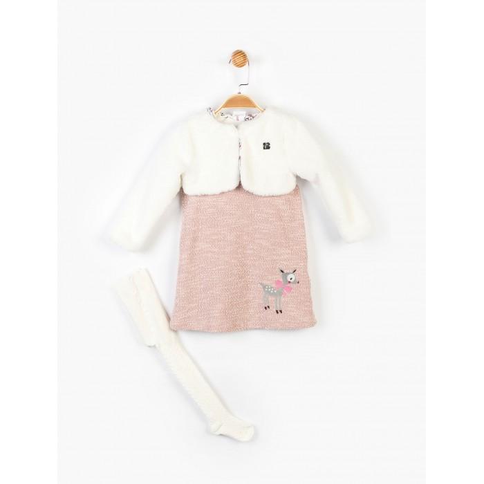 Купить Комплекты детской одежды, Panolino Комплект для девочки (сарафан, кофта, болеро, колготки) PN14897