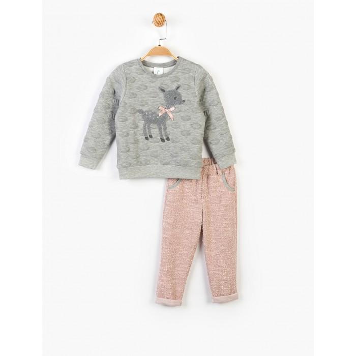 Panolino Костюм для девочки (брюки и свитшот) PN14896